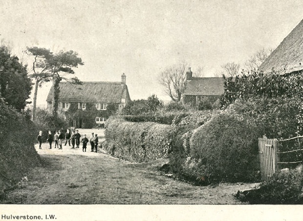 Photo of Hulverstone before 1906, Brighstone, Isle of Wight